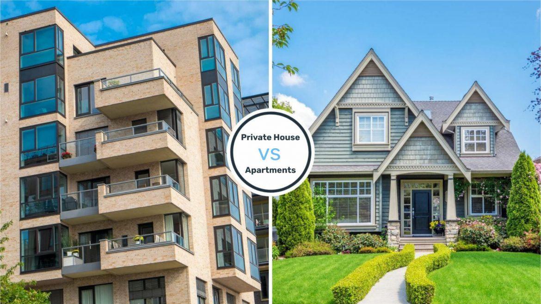Apartments vs Homes