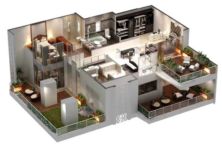 5 to 10 Marla house plans for a perfect house